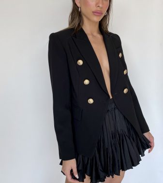 Jacket Tailored gold buttons