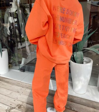 BOYSLIE-THE ORANGE 1-800 REMIX HOODIE