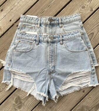 High relaxed shorts