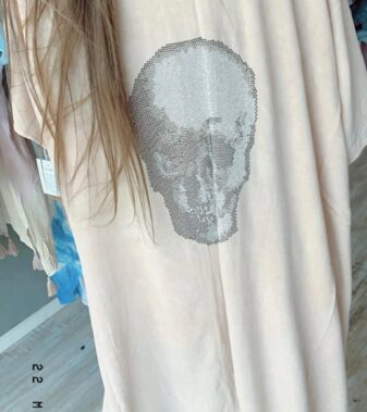Skull cover up suit