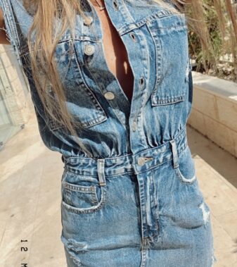 Denim dress signature 8